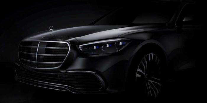 Mercedes-Benz продемонстрировал новый седан S-Сlass 1