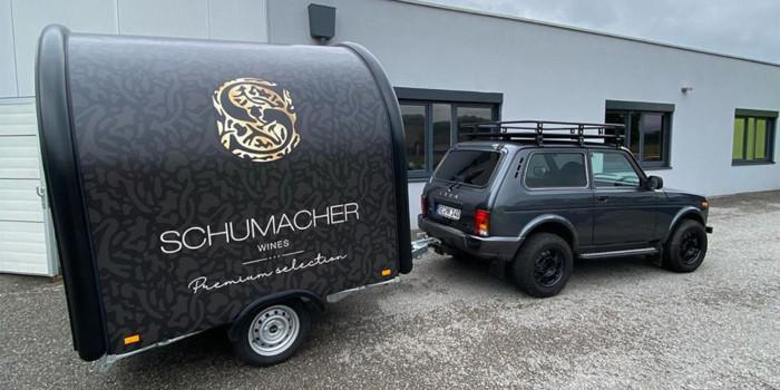 Шумахер пересел на «Ниву» 1