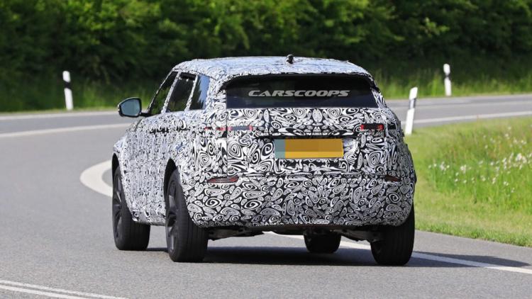 Семейство Range Rover пополнится маленьким семиместным кроссовером 2