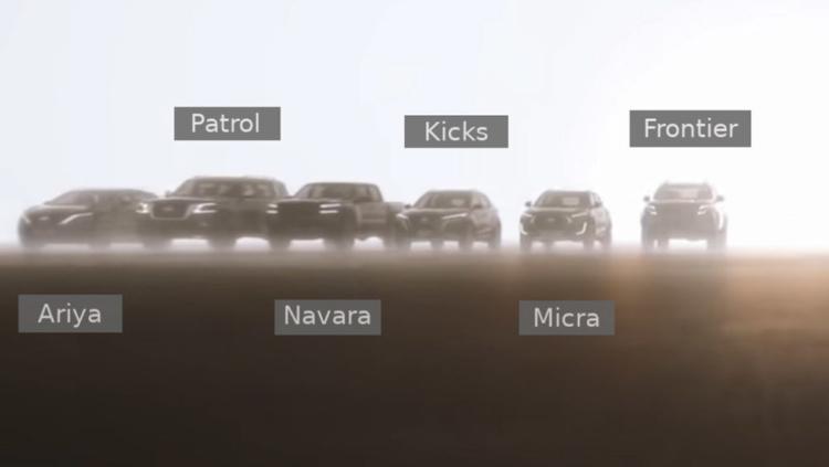 Nissan анонсировал сразу 12 новинок 1