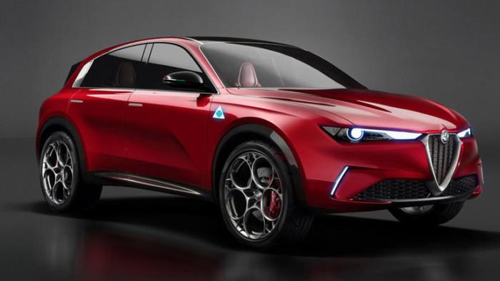 Alfa Romeo презентует компактный электрический кроссовер 1