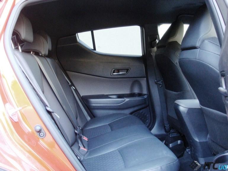 «Драйвовый японец»: обзор Toyota C-HR Hybrid 3