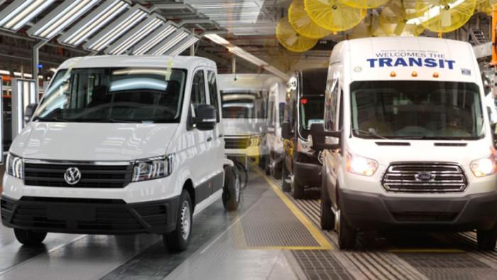 Электромобили Ford будут строить на заводе Volkswagen 1