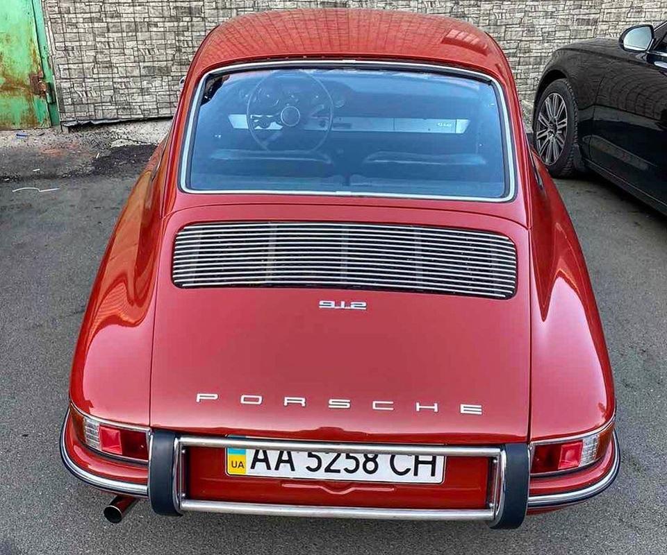 Как выглядит самый раритетный Porsche в Украине 2