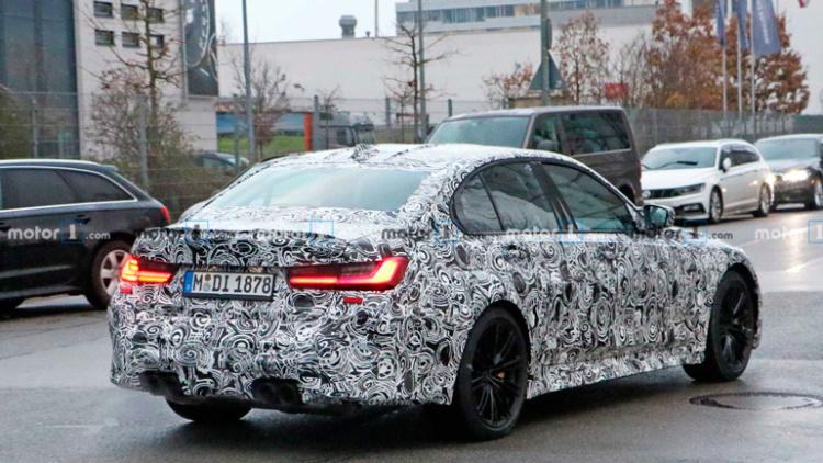 Во время испытаний замечен новый BMW M3 1