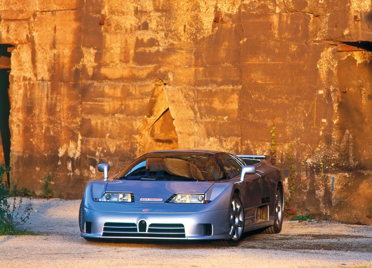 Как выглядит уникальный Bugatti Brabus 1
