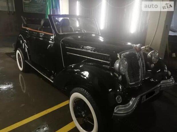 В Украине продают уникальный 100-летний ретро-автомобиль 1
