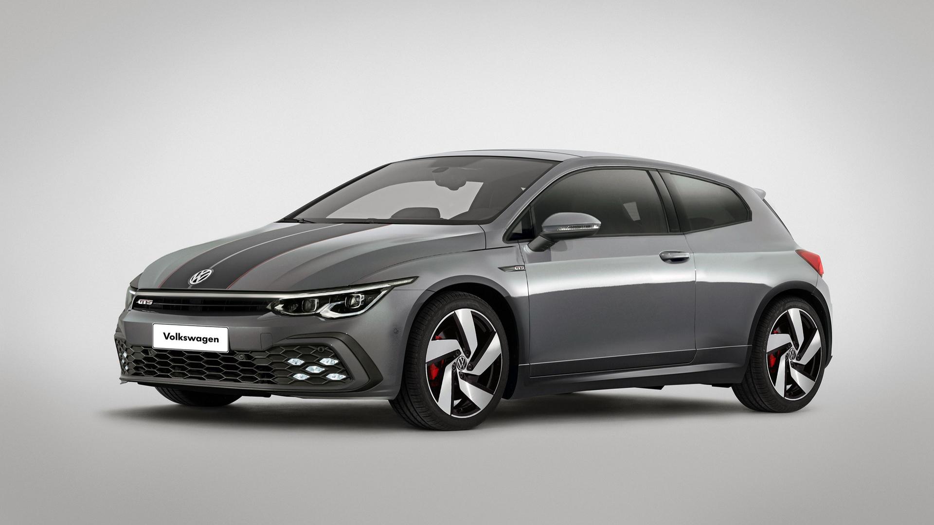 Появились изображения совершенно нового Volkswagen Scirocco 1
