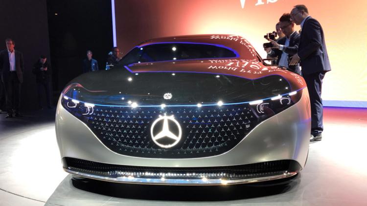 Появились подробности о будущем Mercedes-Benz EQS 1