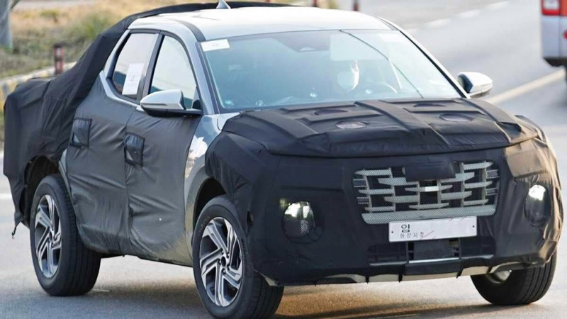 Пикап Hyundai Santa Cruz вышел на финальные тесты 1