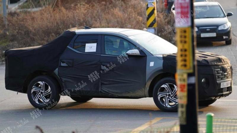 Пикап Hyundai Santa Cruz вышел на финальные тесты 2