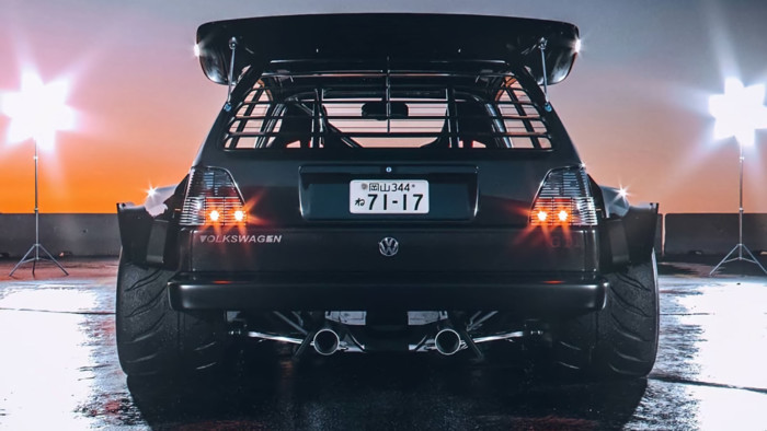 Как выглядит самый «демонический» Volkswagen Golf в мире 2