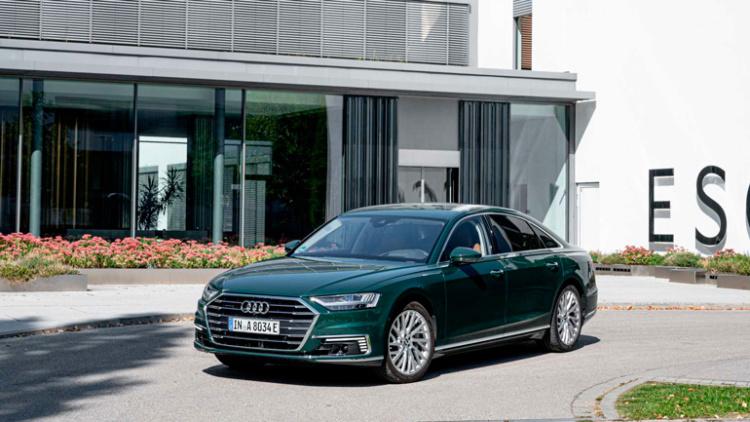 Audi готовит гибридный A8 1