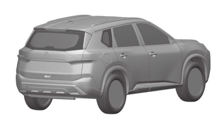 Рассекречены патентные изображения нового Nissan X-Trail 2