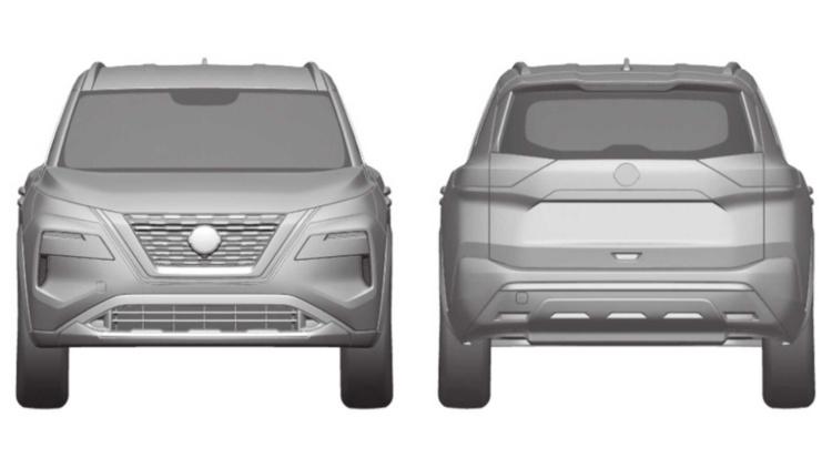Рассекречены патентные изображения нового Nissan X-Trail 3