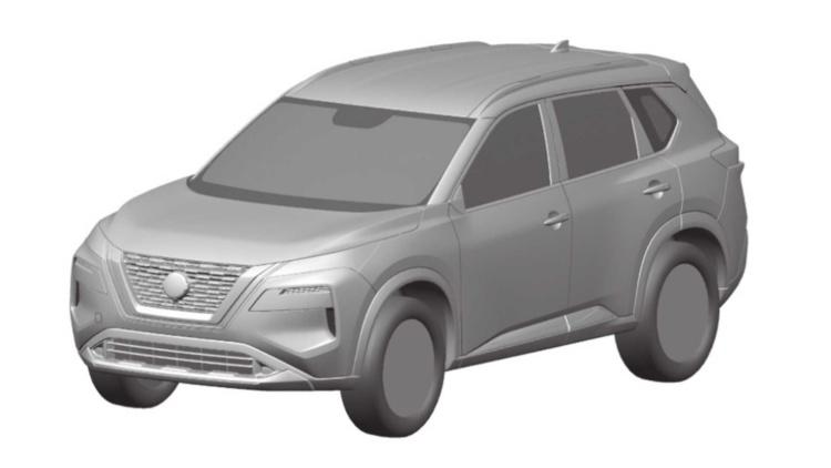 Рассекречены патентные изображения нового Nissan X-Trail 1