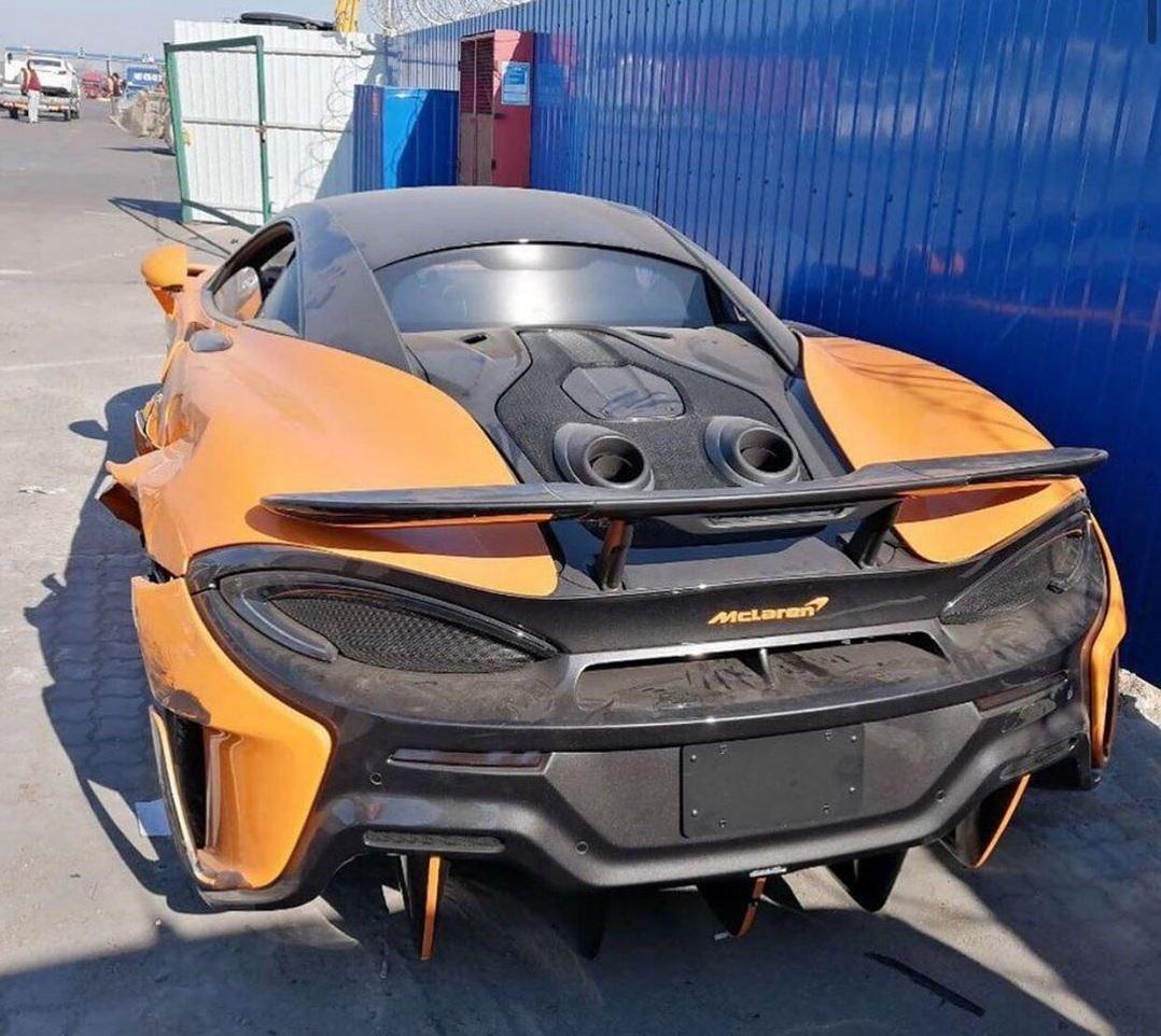 В Украине объявился редчайший McLaren 2