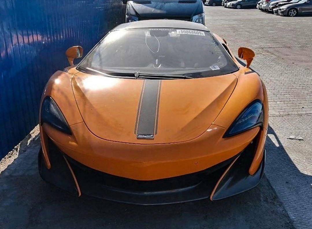 В Украине объявился редчайший McLaren 1