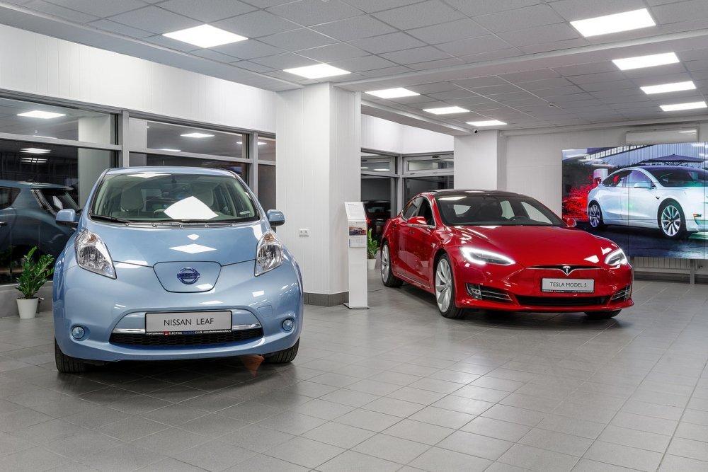 В Украине просел рынок электромобилей 1