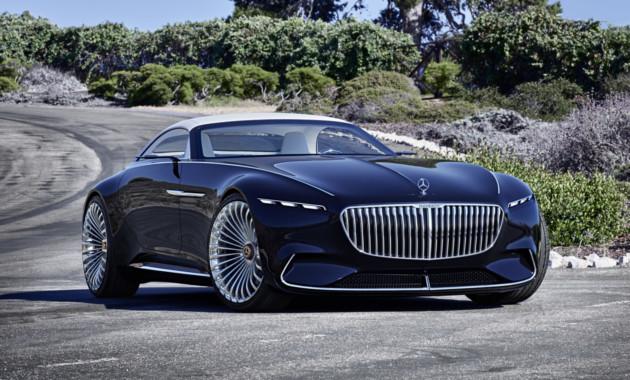 Mercedes представил роскошный кабриолет 1