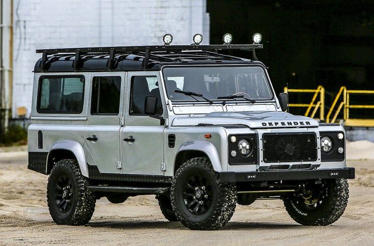 «Железный конь» и «Каратель» – новые необычные Land Rover 1