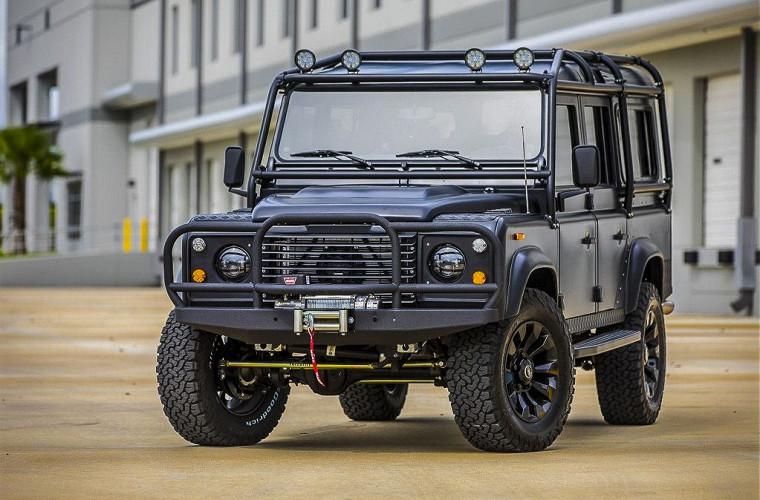 «Железный конь» и «Каратель» – новые необычные Land Rover 2