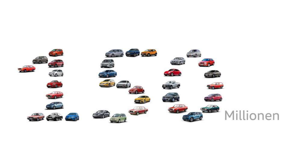 Volkswagen выпустил 150-миллионный автомобиль 1