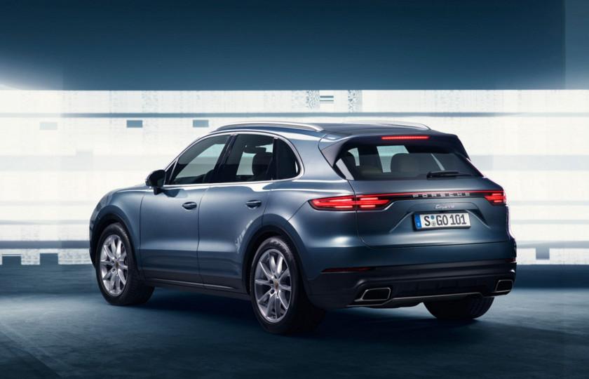 Компания Porsche рассекретила новый Cayenne 2