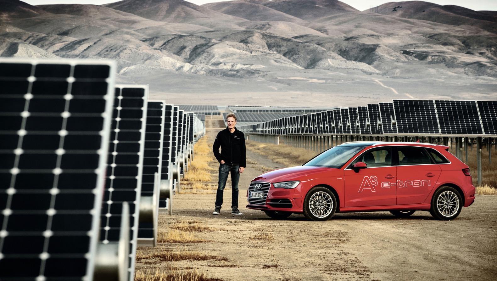 Audi оснастит автомобили солнечными батареями 1