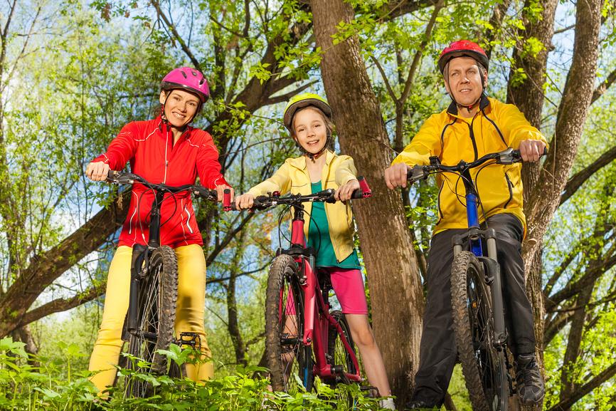 Как правильно ездить на велосипеде 3
