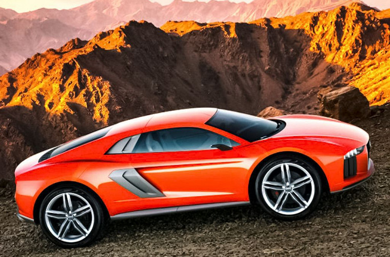Lamborghini готовит двухместное кросс-купе 1