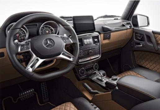 Mercedes презентовал эксклюзивные «Гелендвагены» 3