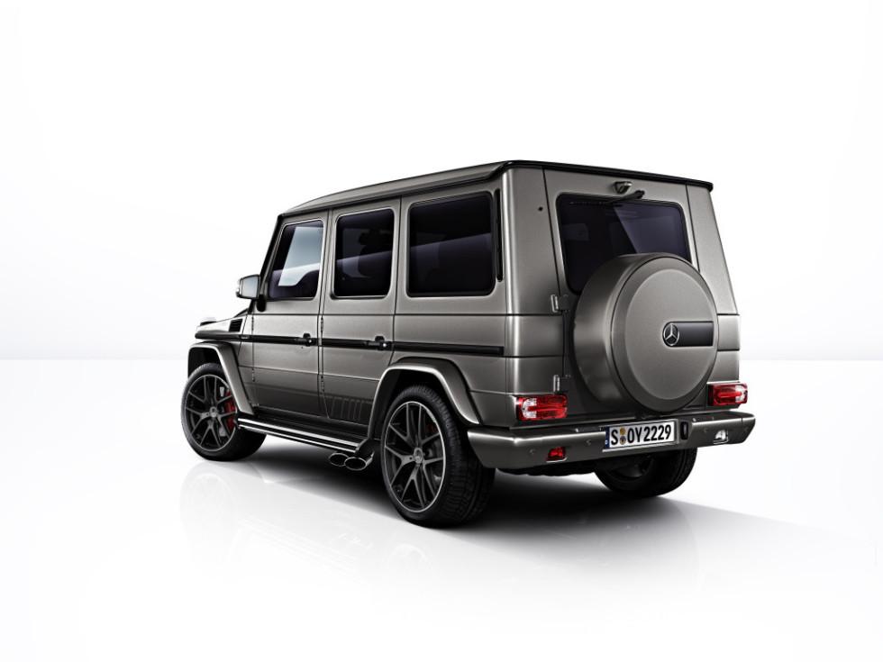 Mercedes презентовал эксклюзивные «Гелендвагены» 1