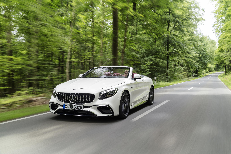 Компания Mercedes-Benz раскрыла кабриолет S-класса и обновленное купе 2