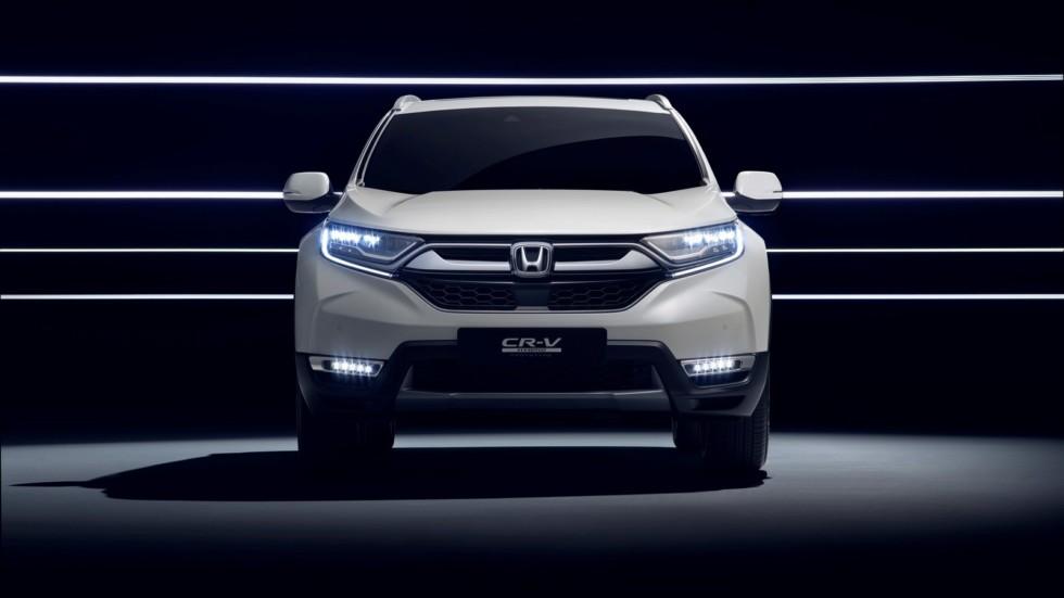 Honda CR-V станет «европейским» гибридом 1