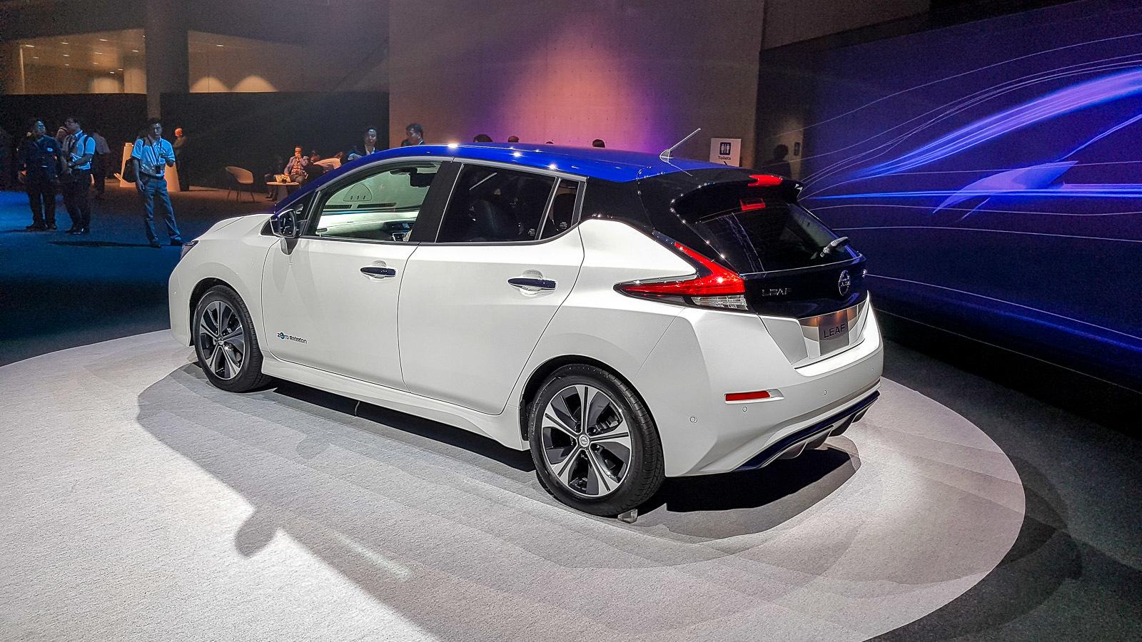 Nissan Leaf нового поколения официально представлен 1