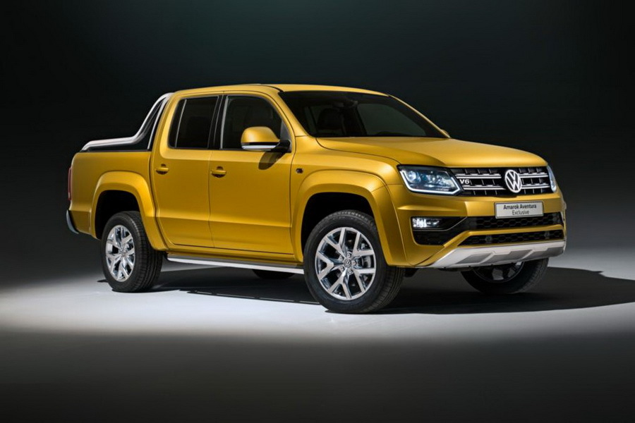 Volkswagen представит 258-сильный пикап Amarok 1