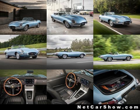 Компания Jaguar продемонстрировала классический автомобиль «будущего» 1