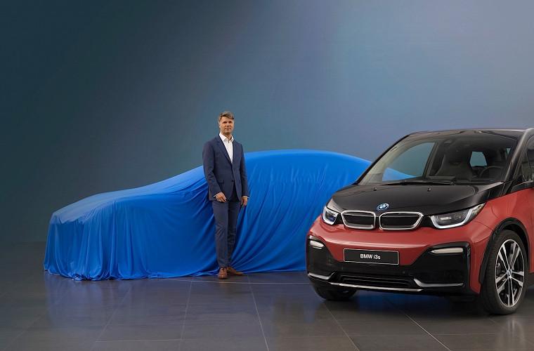 Компания BMW рассекретила тип кузова новой модели i5 1