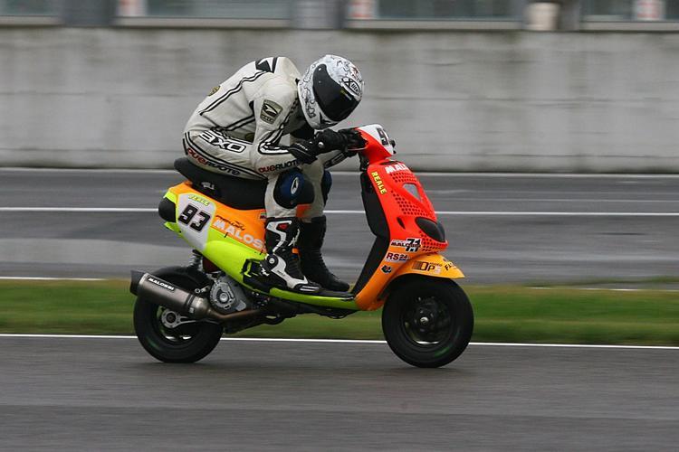 Установлен мировой рекорд скорости среди скутеров 1