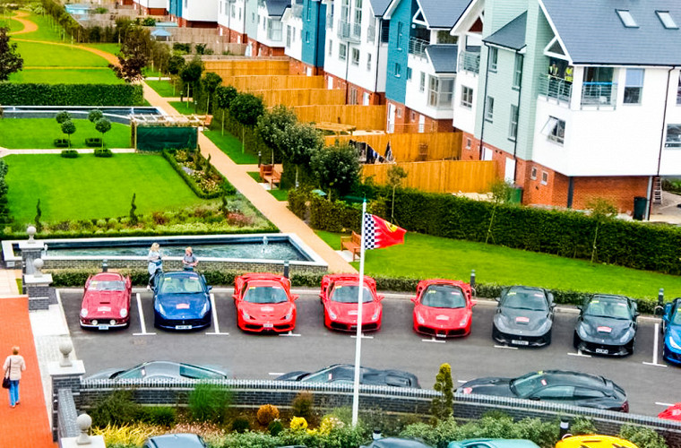 Олигархи позавидуют: парковка на 25 миллионов долларов 2