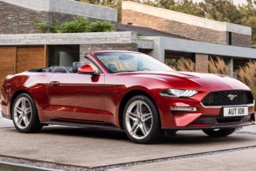 Ford рассекретил Mustang для Европы 2