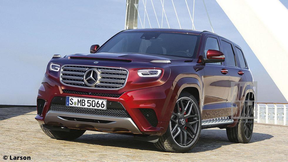 Mercedes-Benz готовит два новых кроссовера 1