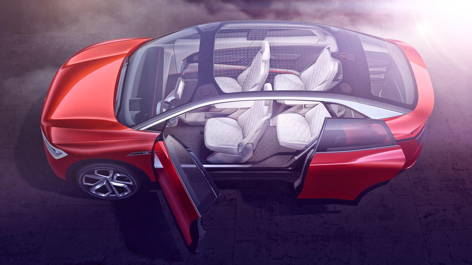 Volkswagen представил новый электрокросс в цвете «Гибискус» 2