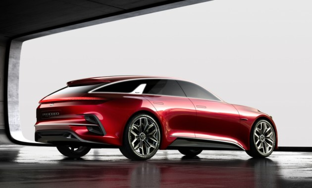 Концептуальный Kia Ceed нового поколения представлен официально 2