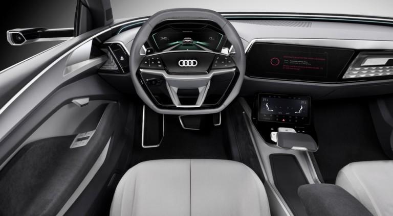 Audi представила новый купеобразный кроссовер Elain 1