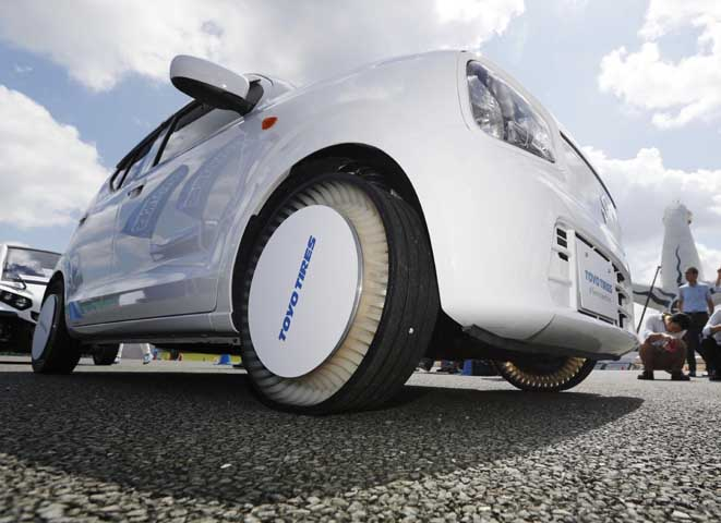 Компания Toyo Tires презентовала шину без воздуха 1