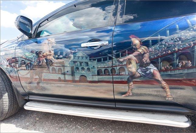 Аэрография на автомобилях: искусство или «просто круто»? 5