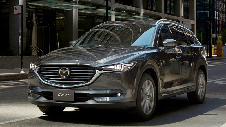 Mazda официально представила кроссовер CX-8 1