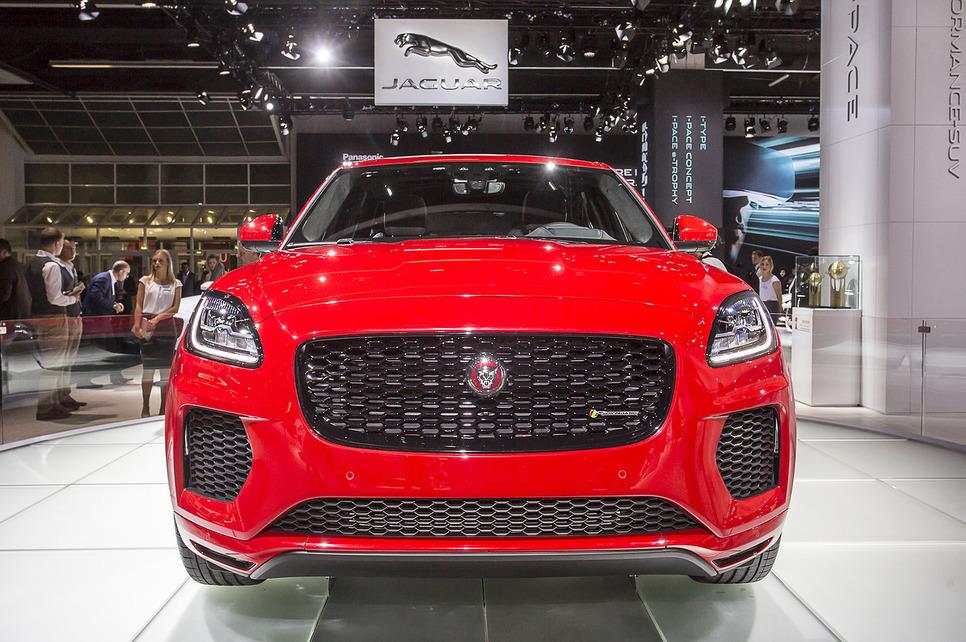 Во Франкфурте состоялась публичная премьера Jaguar E-Pace 1